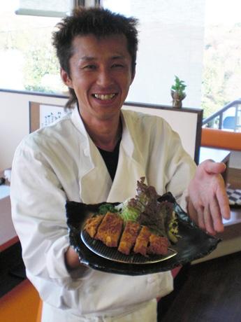 同店店長兼料理長の廣石さん