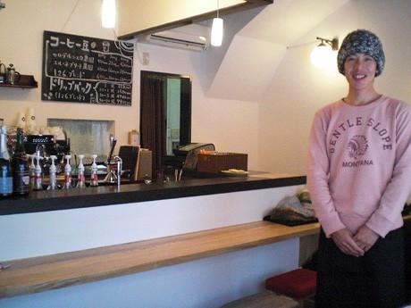 「1月26日にオープンすることと、自分の名前を数字に置き換えて付けた」と店主・村田厳朗さん