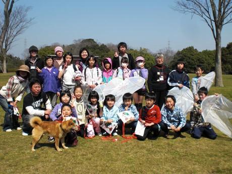 福島から「フラットツアー2012」で山陽小野田を訪れた子どもたち