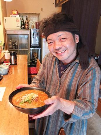 「中華料理店と同じ味わいを楽しんでもらいたい」と同店オーナーの舛岡さん