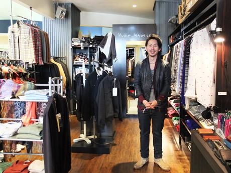「ブランドとのコラボ商品もさらに展開していく」とAn・オーナーの南場忠治さん