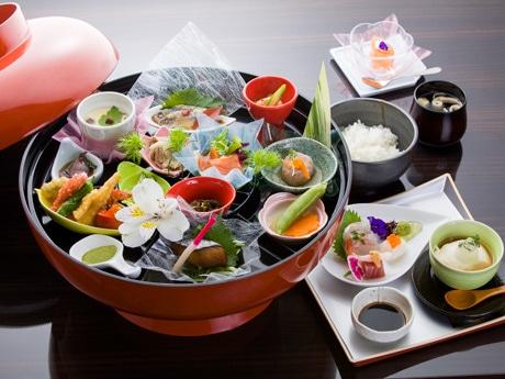 KOUSHINが提供するランチメニューの「おもてなし御膳」 写真提供=コウシン