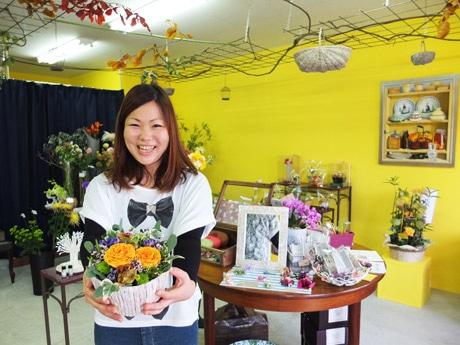 「要望には柔軟に応えていきたい」と松岡美恵子さん