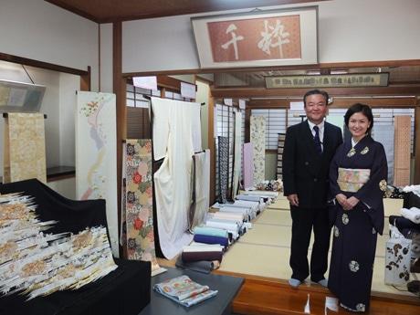 同店の原田善正さんと佳代子さん