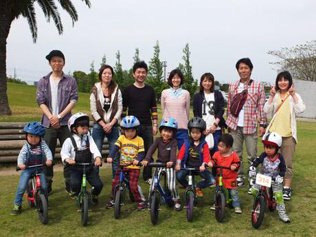 「競技としてではなく遊びとしてランニングバイクを楽しんでいきたい」と吉永さん