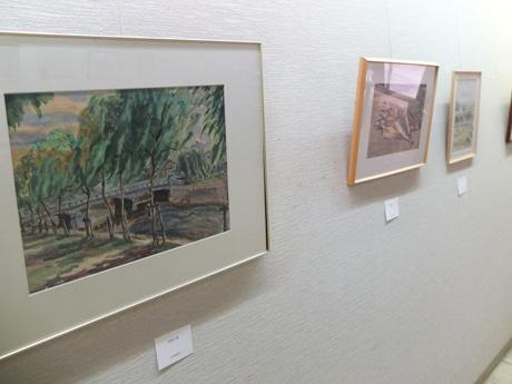 1955年に宇部・真締川を描いた作品