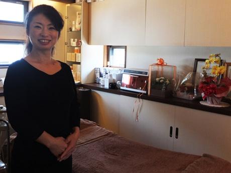 「頑張る女性のキレイを応援したい」と宮澤和美さん