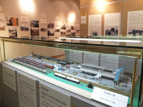 JR宇部線をテーマにした「鉄道展」