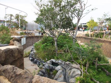 「ときわ丸」跡の新施設
