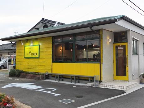 山口・平井にオープンしたつけ麺専門店「二代目YUTAKA」