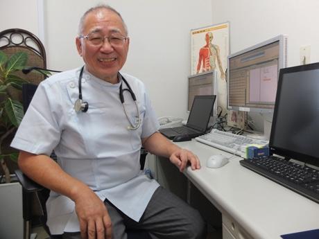 「地域医療を進めていきたい」と意気込む加屋野医院長