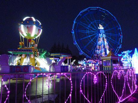 約150万球が照らす「TOKIWAファンタジア」