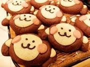 宇部井筒屋のパン店で「申のパン」人気に 毎年恒例「干支パンシリーズ」