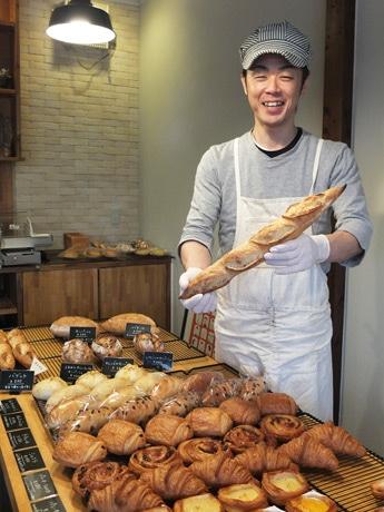 「今後は総菜パンなどのラインアップも増やしていきたい」と高橋さん
