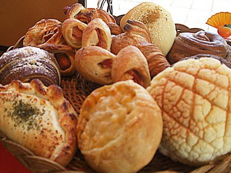 「宇部ぱん穀博覧会」に出店する「ベーカリーメルシー」のパン
