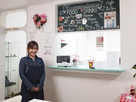 山陽小野田の英会話カフェ「アーリーバーズ」店主の末永さん