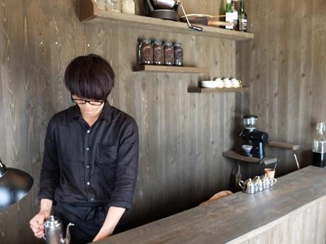 「目の前のお客さんにコーヒーを提供し続けたい」と力也さん