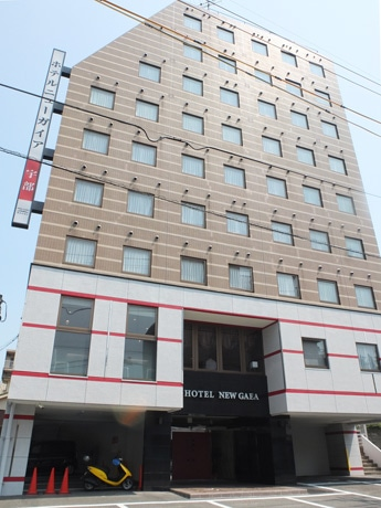 宇部・松島町の「ホテルニューガイア宇部」