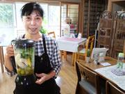 美祢に「スムージー」メインの民家カフェ 手作りランチが地元民に好評