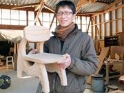 宇部・船木で「わくわくこども椅子市」 家具作家の工房でワークショップも