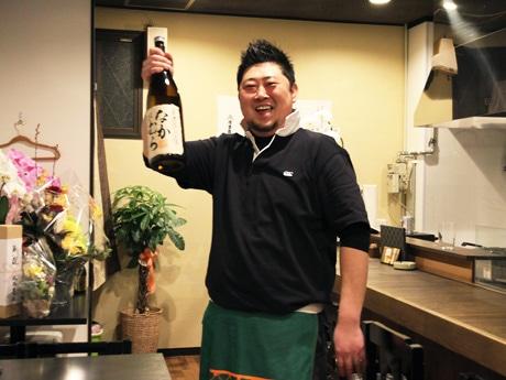 「にぎやかで楽しい店にしたい」と店主の中村さん