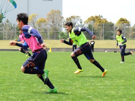 20歳になった和田選手(左)