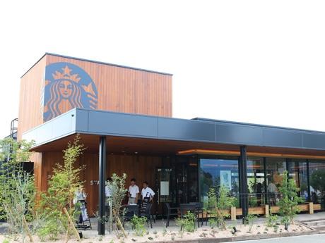 YCAM横にオープンした「スターバックスコーヒー 山口市中央公園店」