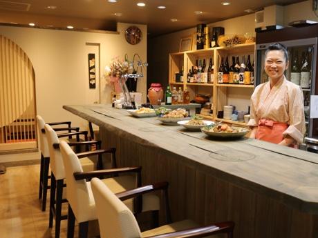 「いつもお客さまがいるような店にしていきたい」と長田直子さん