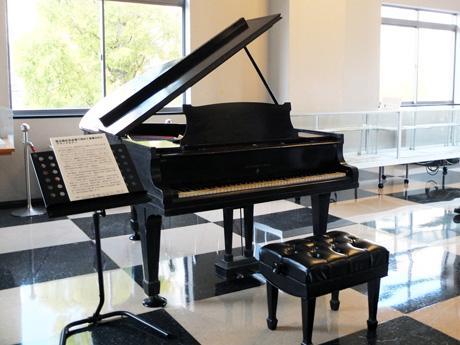 95年前に寄贈された「伝説のピアノ」