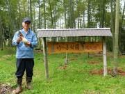 宇部の里山に「タケノコ堀り」観光農園 今年は豊作の「表年」
