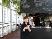 JR新山口駅にカフェ「プラットファーム」 市内の船方農場、「農場直営」売りで