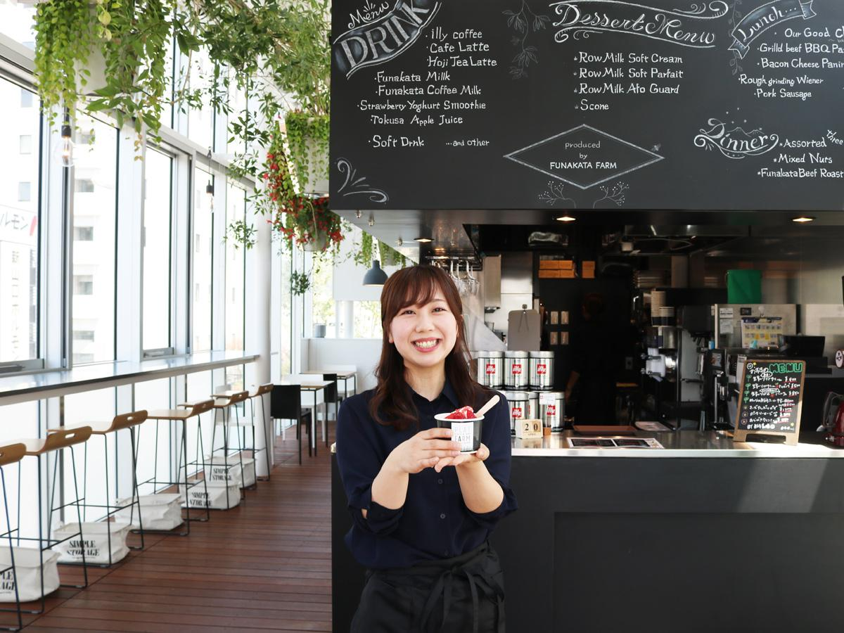 「山口市の食の魅力の一つとして発信していきたい」と店長の坂本さん