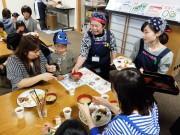 宇部の「みんにゃ食堂」にふく鍋 300人が食事の時間を共有