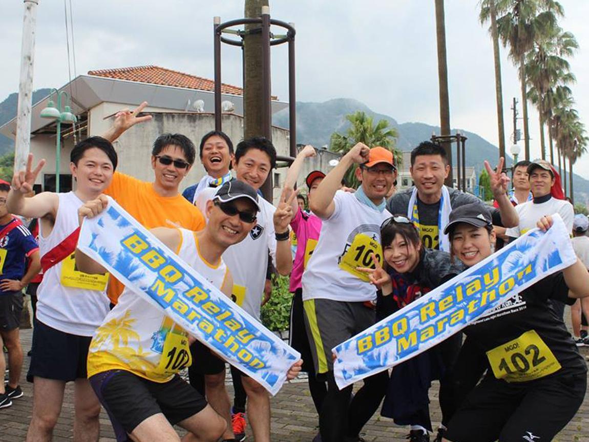 昨夏に広島・呉で開催された「BBQリレーマラソン」の様子