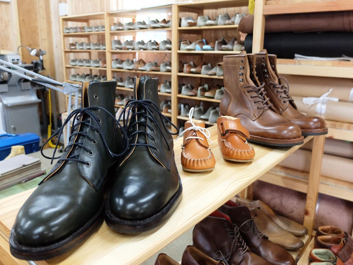 天然皮革で作る「手靴工房gururi」のオーダーメード靴