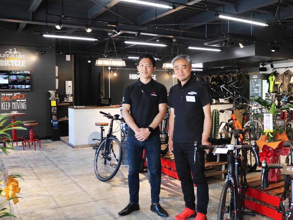 宇部にスポーツサイクル専門店「ヒロシゲ」 柳井の老舗自転車店、初の2号店