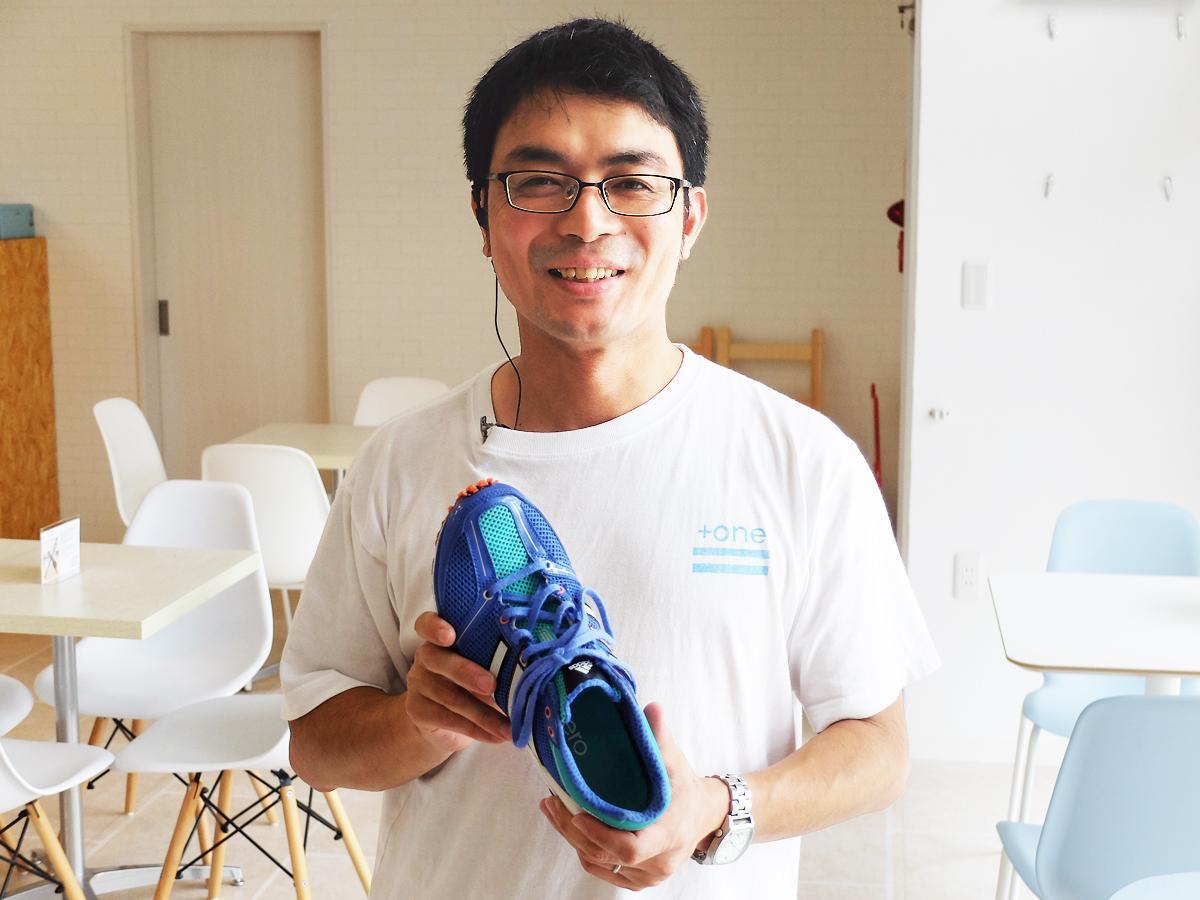 「将来の介護予防の一環として指導したい」と道祖さん