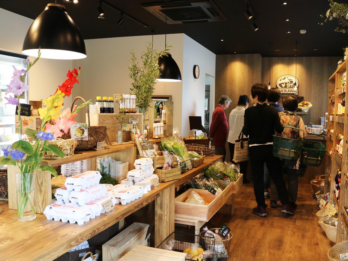 「秋川牧園」敷地内にオープンした直営店