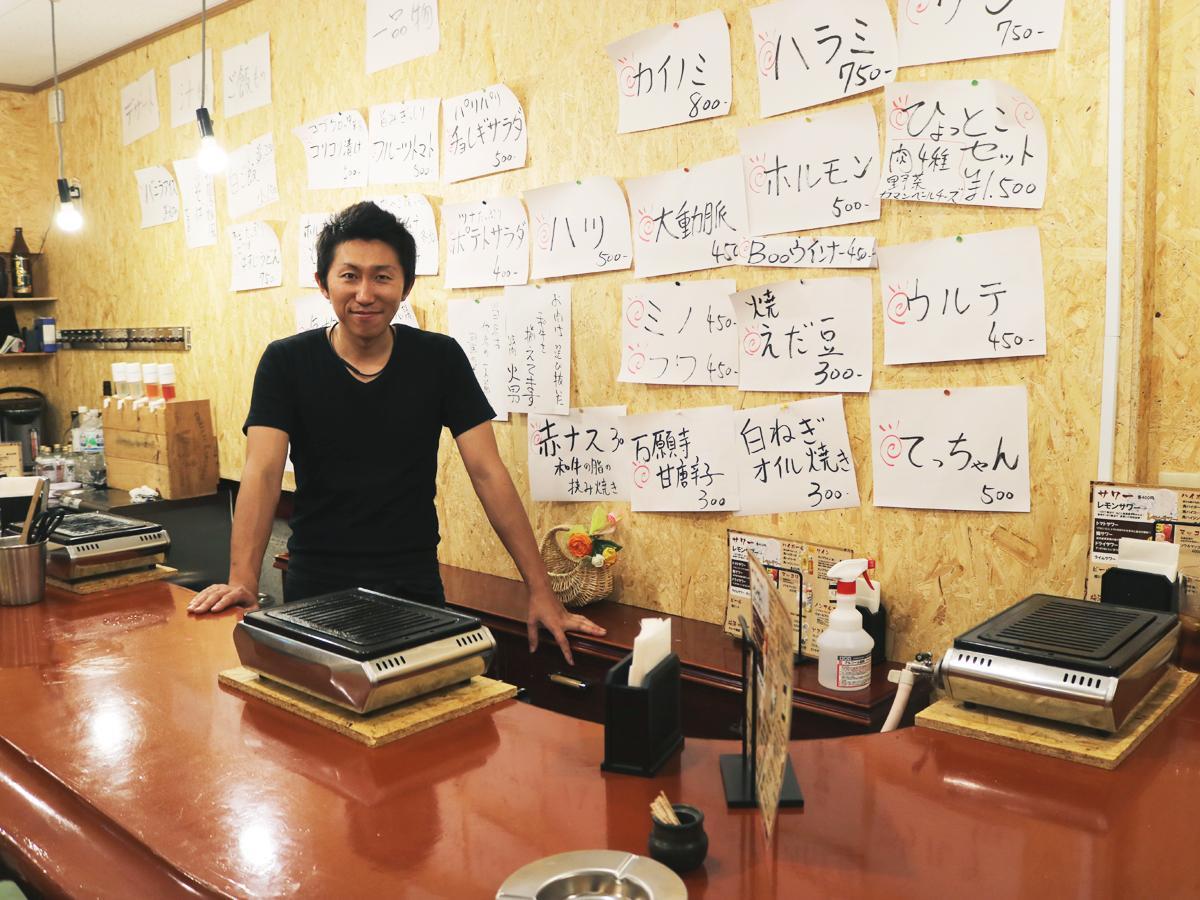 「不安な気持ちもあるが、チャレンジする気持ちを一番に頑張りたい」と中村さん