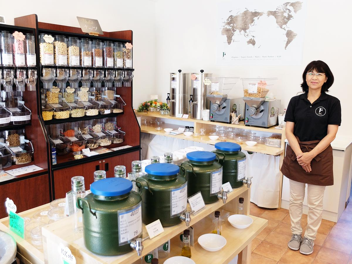 「資格や経験を生かし、地域の人の健康づくりに寄り添いたい」と藤本さん