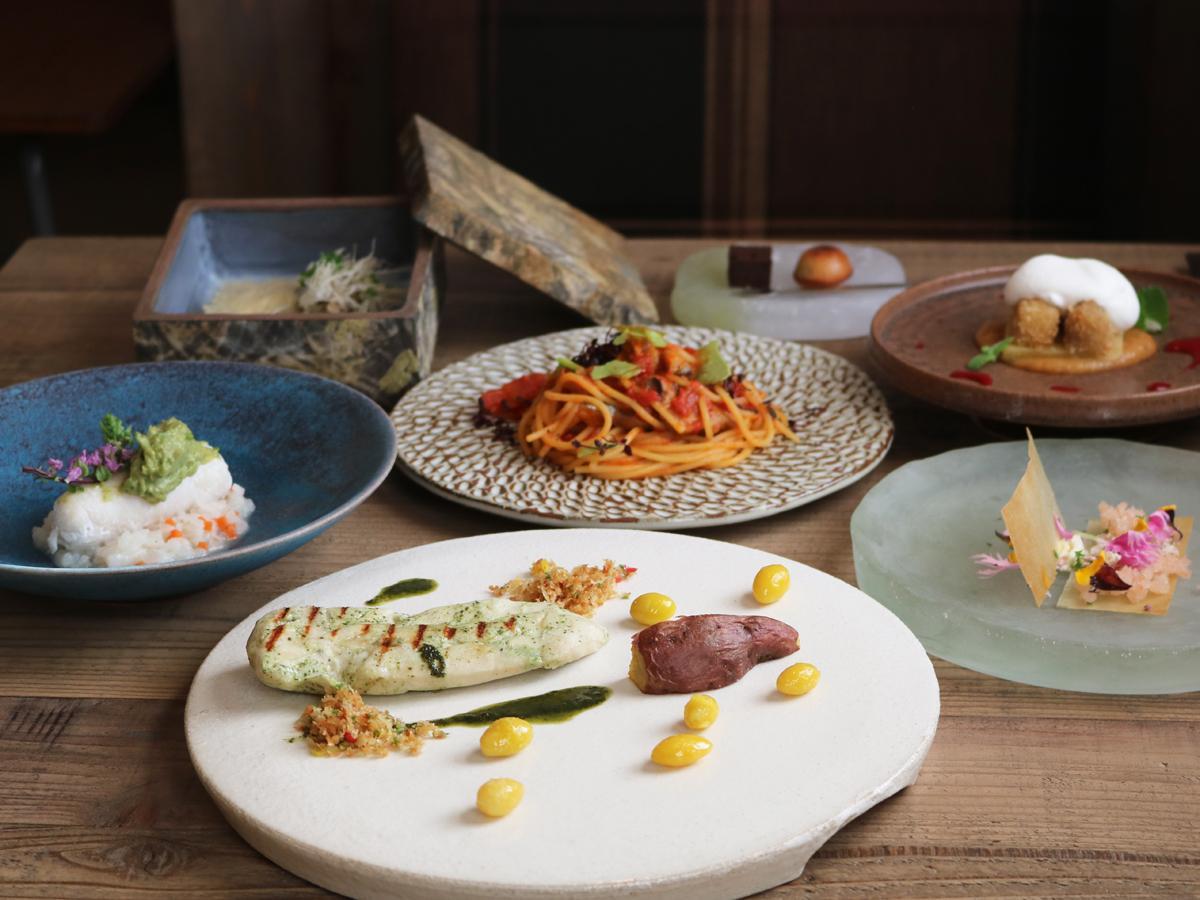 「ル・ココン」が提供するランチタイムのコース料理