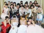 小野田で「厚狭高校ファッションショー」 生徒の服飾作品、地元SCで初披露