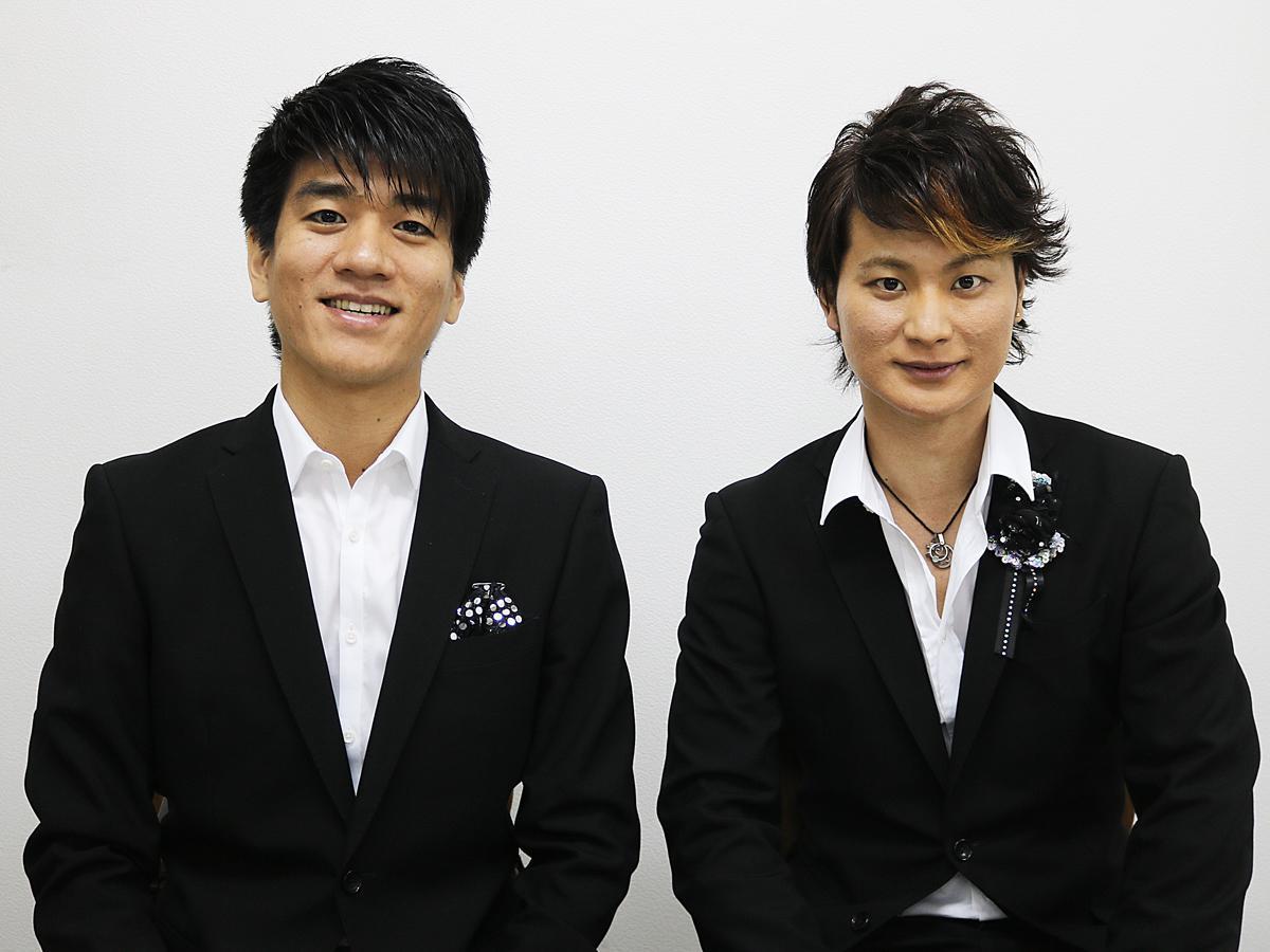「ル ヴェルヴェッツ」の佐賀龍彦さん(左)と日野真一郎さん