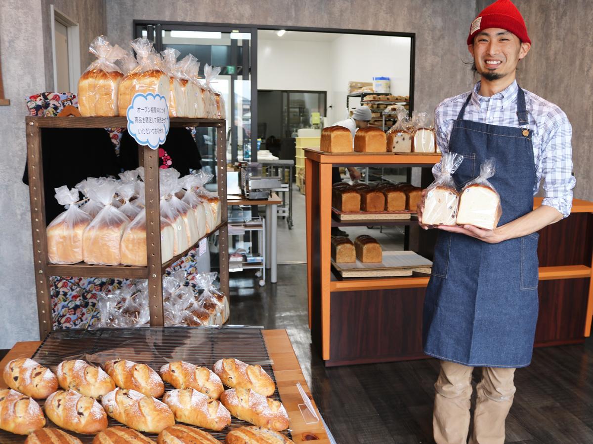宇部・厚南にパン店「ふかまろ」 手作り食パンとコッペパンをメインに