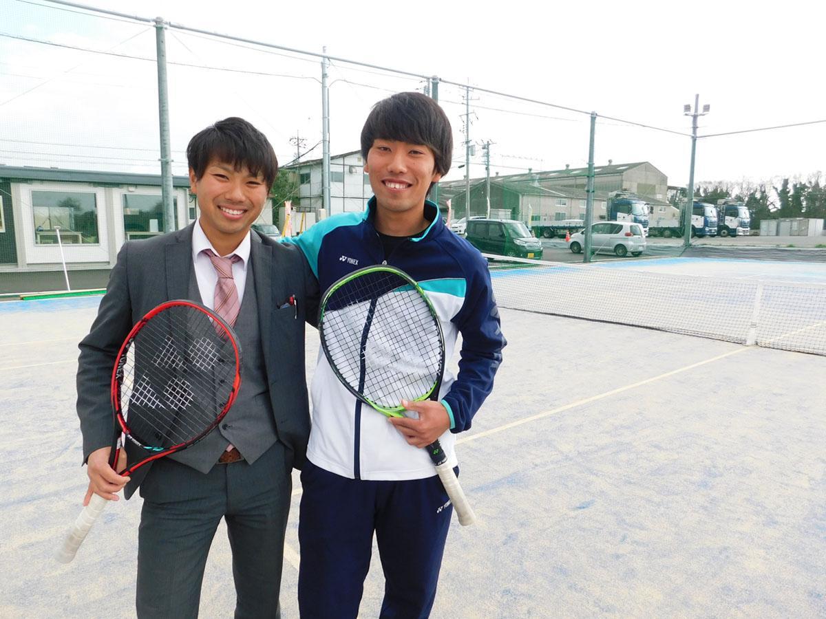 宇部に「サンフォレストテニスクラブ」 若手兄弟が運営、専用コートも完備