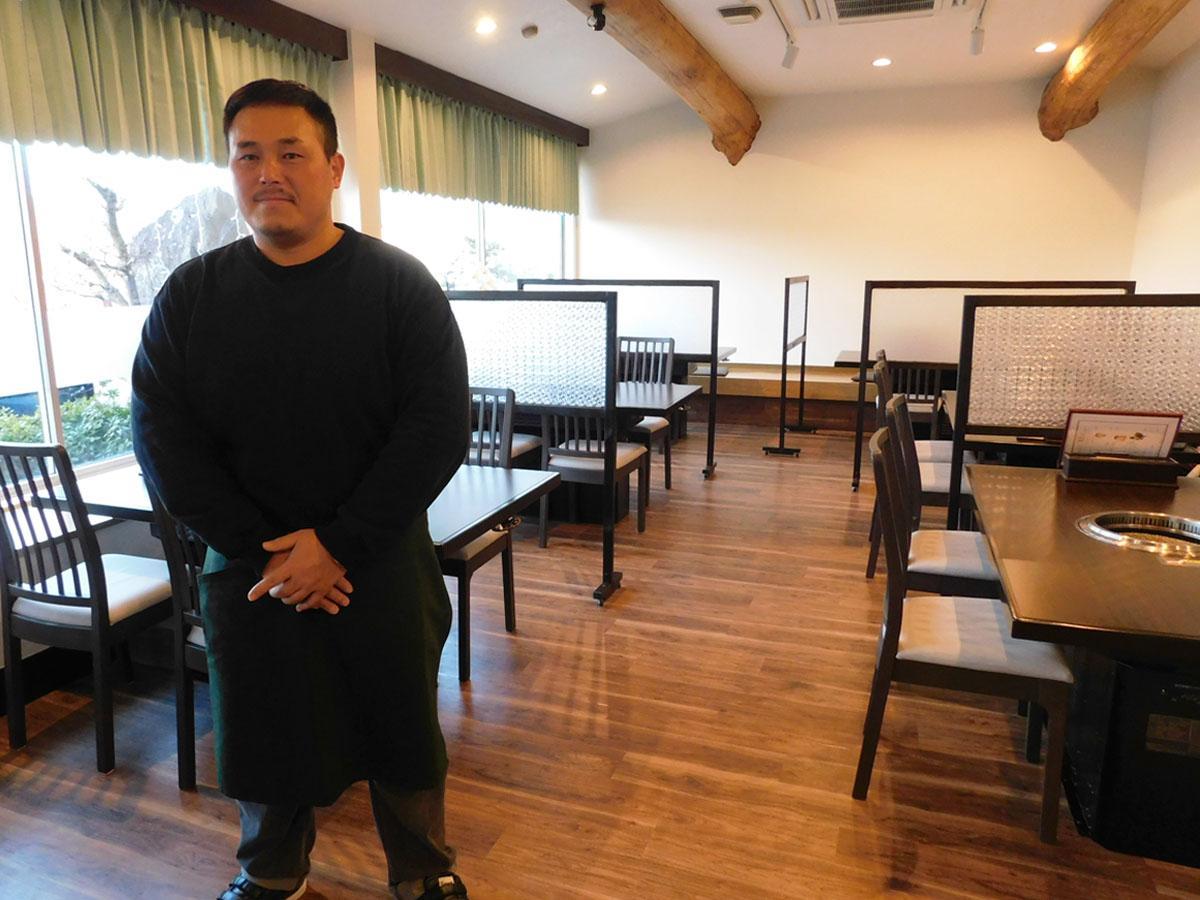 宇部・車地の「焼肉レストラン厚東川」が店内刷新 「堅実さ」愛され47年