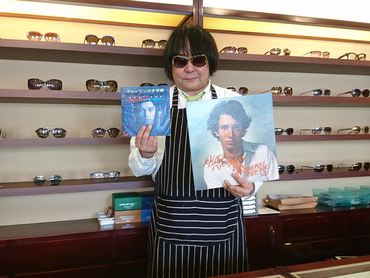「春にぴったりな音楽と眼鏡を見つけてもらえれば」と話す奥瀧さん