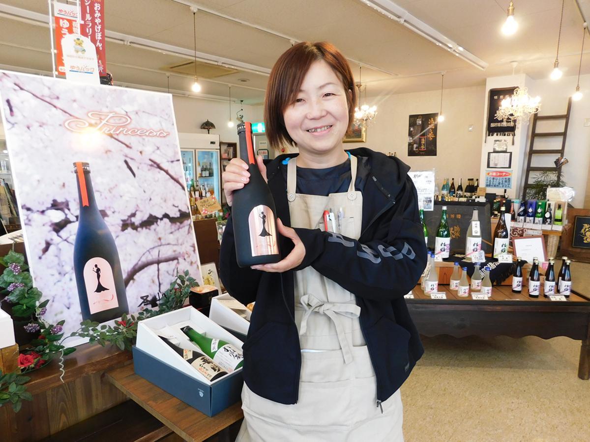 「酒造りを通じて周りの方や地域に恩返ししたい」と宮崎専務