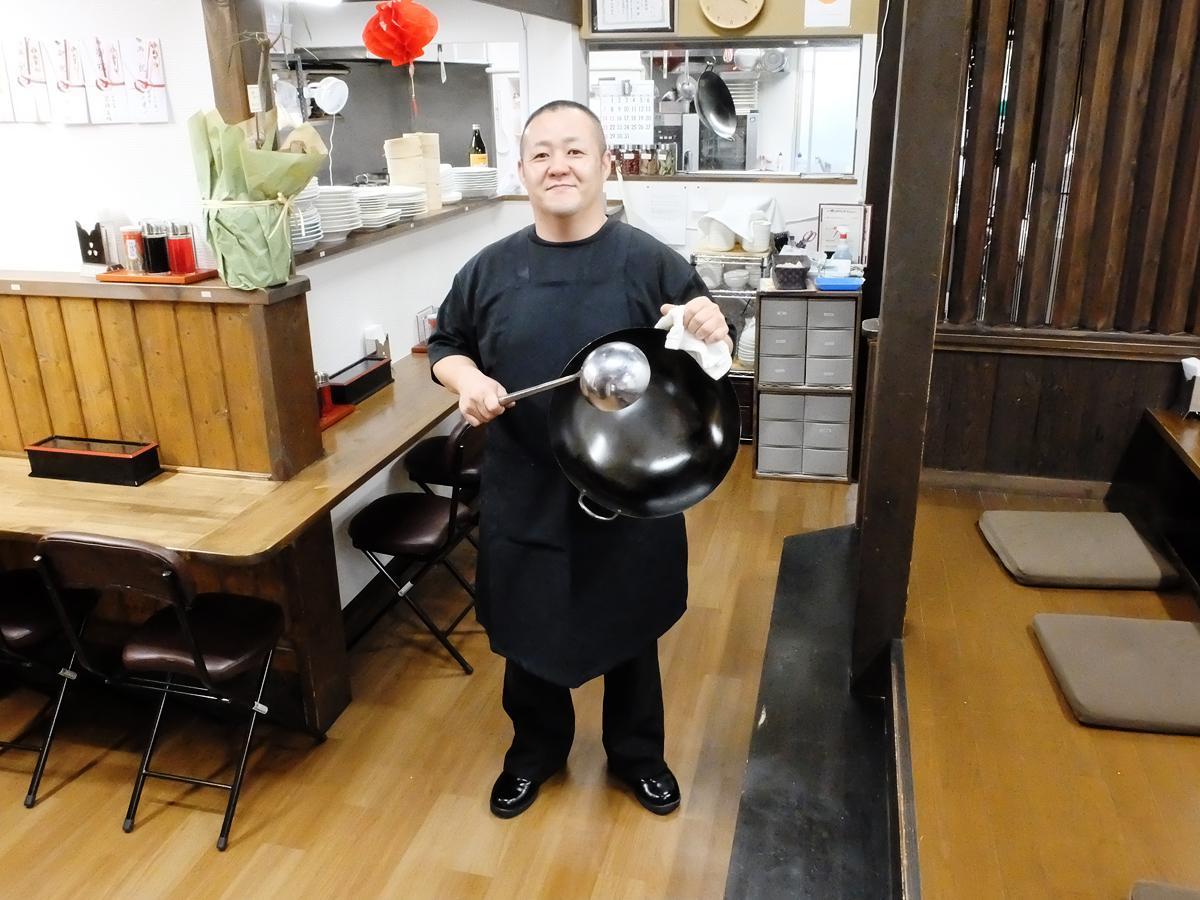 「誰でも入りやすい食堂を目指し、来店客とのコミュニケーションも大切にしたい」と住田さん