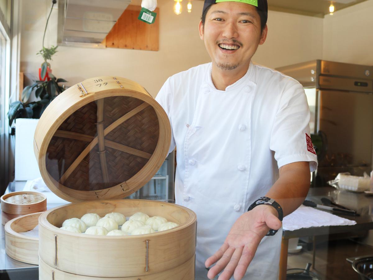 「手作りの味を手軽に楽しんでもらえたら」と店主の古賀さん